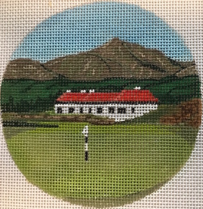 click here to view larger image of Royal County Down - Ireland Ornament (hand painted canvases)