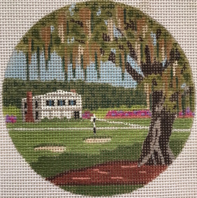 click here to view larger image of Ford Plantation Georgia Ornament (hand painted canvases)