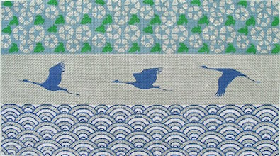 click here to view larger image of Cranes Flying South (hand painted canvases)