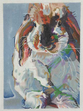 click here to view larger image of Who Said Easter (hand painted canvases)