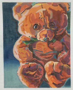 click here to view larger image of Mr. Snuggles (hand painted canvases)