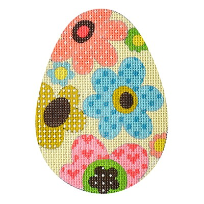 click here to view larger image of Eggceptionally Floral (hand painted canvases)