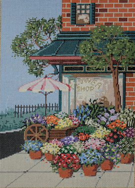 click here to view larger image of Flower Shop (hand painted canvases)