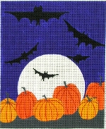 click here to view larger image of Bats (hand painted canvases)