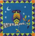 click here to view larger image of Matchy Owl (hand painted canvases)