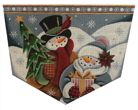 click here to view larger image of Snow Couple 13M (hand painted canvases)