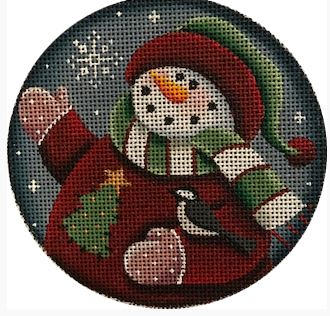 click here to view larger image of Snow Child - 18M (hand painted canvases)