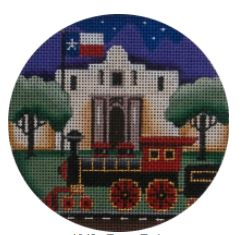 click here to view larger image of Texas Train - 18M (hand painted canvases)