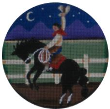 click here to view larger image of Yee Haw! - 13M (hand painted canvases)