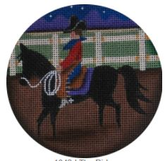 click here to view larger image of Rider, The - 18M (hand painted canvases)
