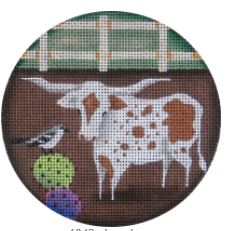 click here to view larger image of Longhorn - 18M (hand painted canvases)