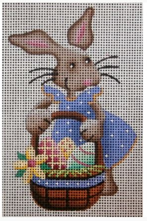 click here to view larger image of Lavender Bunny - 18M (hand painted canvases)