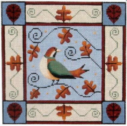 click here to view larger image of Autumn Bird 13M (hand painted canvases)