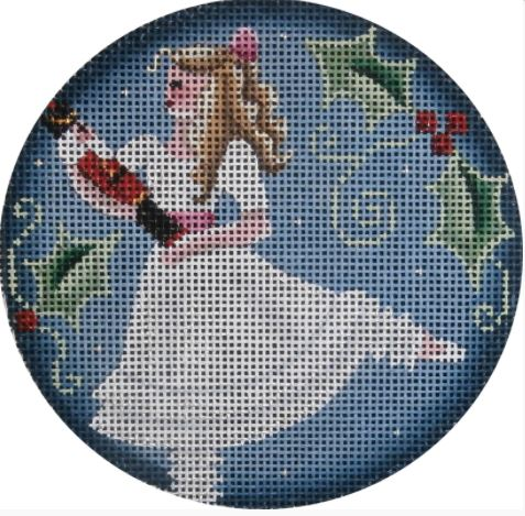 click here to view larger image of Clara Ornament (hand painted canvases)
