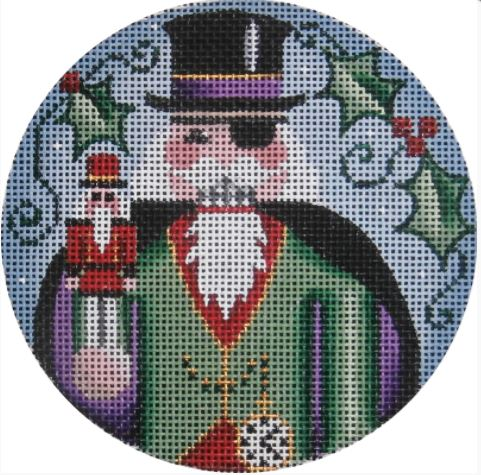 click here to view larger image of Herr Drosselmeyer Ornament (hand painted canvases)