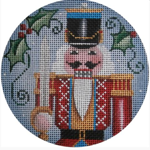 click here to view larger image of Nutcracker Ornament (hand painted canvases)