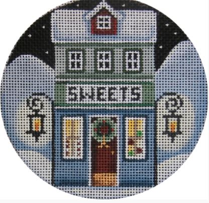 click here to view larger image of Sweets Ornament (hand painted canvases)