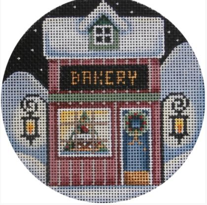 click here to view larger image of Bakery Ornament (hand painted canvases)