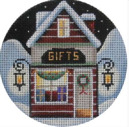 click here to view larger image of Gift Shop Ornament (hand painted canvases)