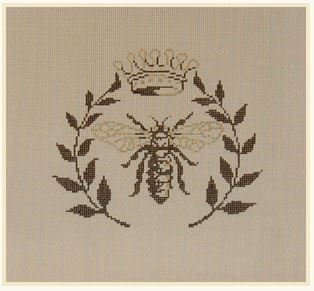 click here to view larger image of Bee - 18m (hand painted canvases)