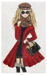 click here to view larger image of Winter Girl (hand painted canvases)