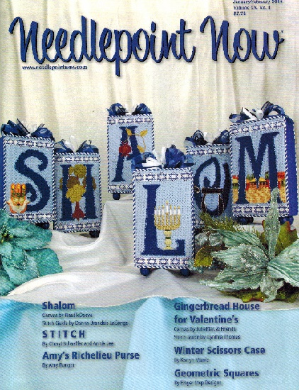 click here to view larger image of Needlepoint Now January/February 2018 (Magazines)