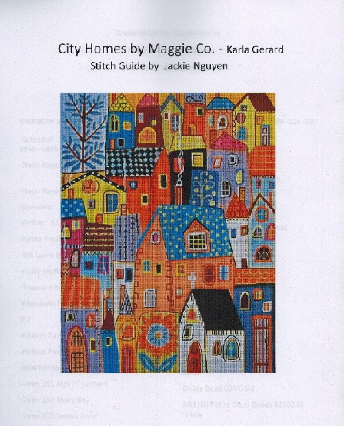 click here to view larger image of City Homes Stitch Guide (books)
