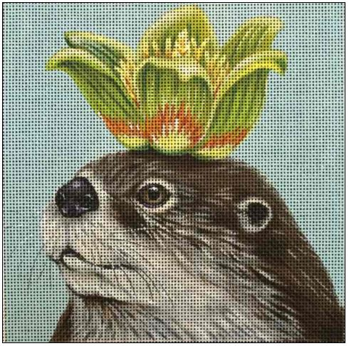 click here to view larger image of Otto the Otter (hand painted canvases)