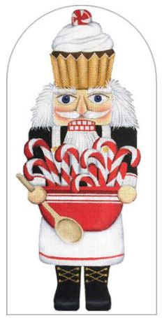click here to view larger image of Cook Nutcracker (hand painted canvases)
