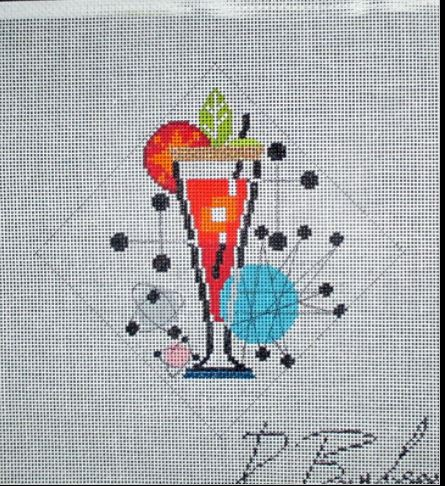 click here to view larger image of Mojito (hand painted canvases)
