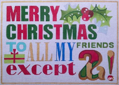click here to view larger image of Merry Christmas To All My Friends (None Selected)